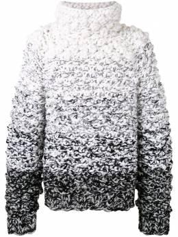 Dolce&Gabbana джемпер крупной вязки с эффектом градиента GXC23TJAM7D
