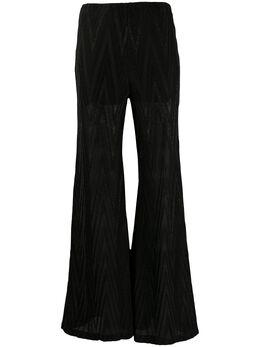 Missoni раскрашенные брюки с узором зигзаг 2DI002302J0049