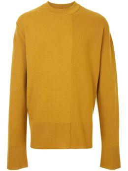 Wooyoungmi свитер со вставками W203KN05YELLOW