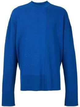 Wooyoungmi свитер Unbalanced W203KN05BLUE