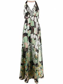 Temperley London платье Missy с принтом 20AMSP53661