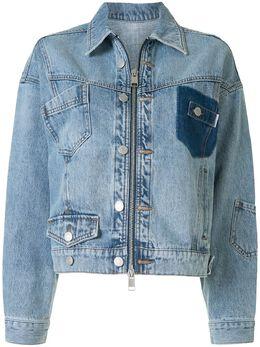 Portspure джинсовая куртка с эффектом потертости RL7J034KDC006