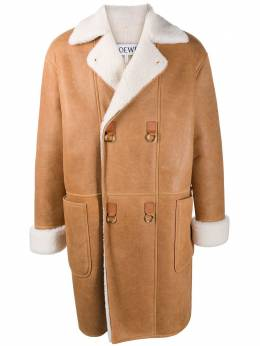 Loewe double-breasted shearling coat H526336X49