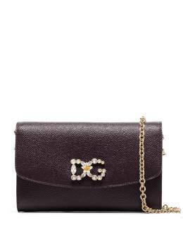 Dolce&Gabbana crystal-embellishment clutch bag BI1275AU771
