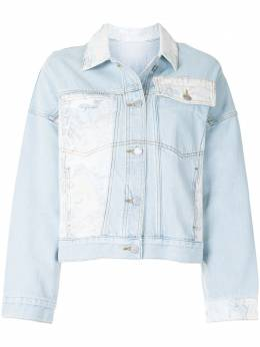 Portspure джинсовая куртка в технике пэчворк RL7J002LZC005