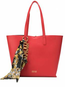 Versace Jeans Couture scarf detail logo tote bag EE1VZABY1E71574
