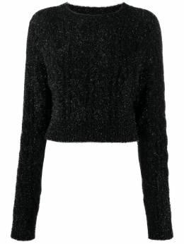 Laneus свитер с круглым вырезом и эффектом металлик MGD539
