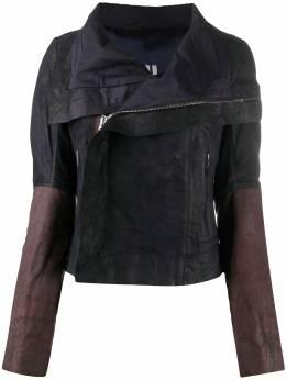 Rick Owens деконструированная байкерская куртка на молнии RP20F2700LBI
