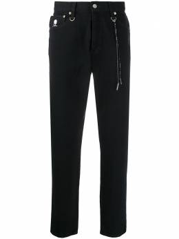 Mastermind World прямые джинсы с завышенной талией MW20S05PA005