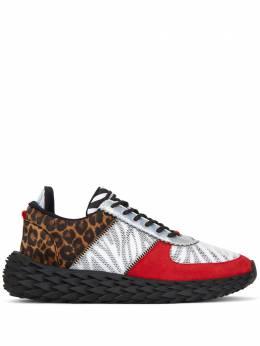 Giuseppe Zanotti Design animal pattern low-top sneakers RU00039001