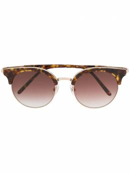 Matsuda солнцезащитные очки в круглой оправе M2046