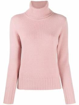 N.peal кашемировый свитер крупной вязки с высоким воротником NPW000698