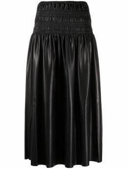 Self-Portrait юбка миди с присборенной талией AW20010