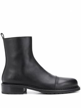 Ann Demeulemeester ботинки с закругленным носком 20024204390