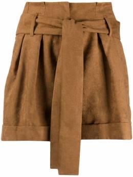 Liu Jo шорты с поясом WF0403T4635
