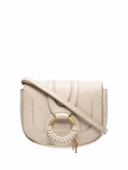 See By Chloe beige Hana mini leather bag CHS17AS901305