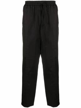 Jil Sander drawstring cropped tapered trousers JSMR311918MR243800