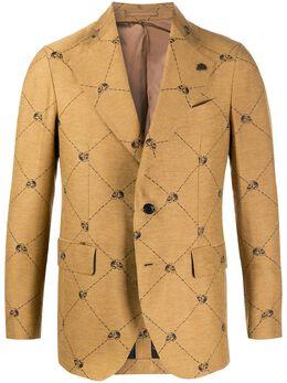 Gabriele Pasini пиджак с принтом G16074GP16436