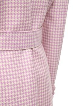 Шерстяной Пиджак-платье Giuseppe Di Morabito 72IWW4026-UERQIFBJTkstV0lUSEU1