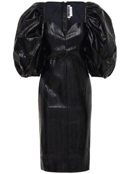 Платье Из Искусственной Кожи Rotate 72IAHY005-MTAwMA2