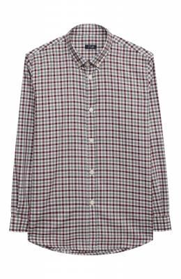 Хлопковая рубашка Il Gufo A20CL184C3120/5A-8A