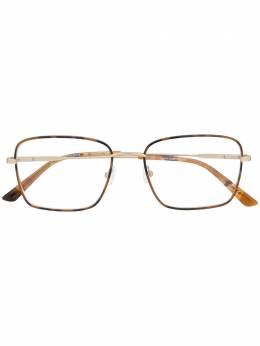 Calvin Klein очки в массивной оправе с логотипом CK20114