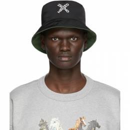Kenzo Reversible Black Little X Bucket Hat FA65AC224F21