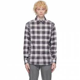 Dunhill Black and White Check Combo Shirt DU20FGLI1W1