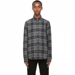 Officine Generale Grey Antime Check Shirt W20MSHI024