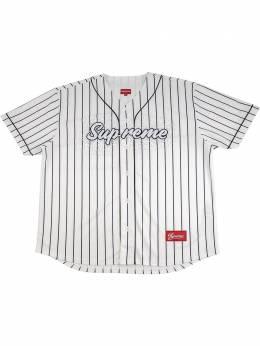 Supreme бейсбольная рубашка с кристаллами SU8814