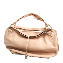 Celine Pink Leather Bittersweet Hobo Bag 329890