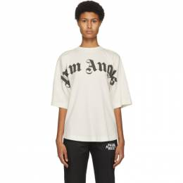 Palm Angels Off-White Logo T-Shirt PWAA023F20JER0060310