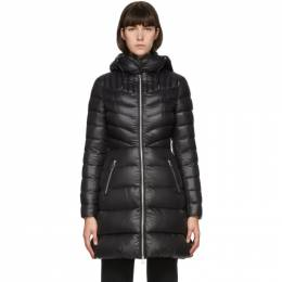 Mackage Black Down Lightweight Lara Coat LARA-R