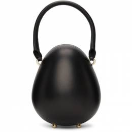 Simone Rocha Black Mini Handheld Egg Bag BAG91 0769 Lamb Nappa