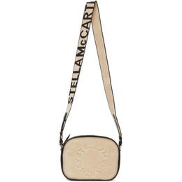 Stella McCartney Beige Sherpa Mini Logo Bag 700148W8731