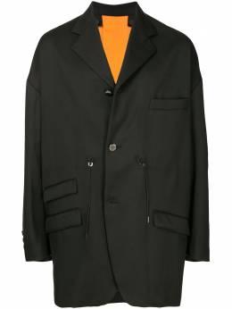 Fumito Ganryu однобортный пиджак оверсайз FU4JA05