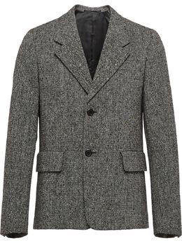 Prada пиджак свободного кроя UGM118S2021XQD