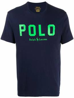 Polo Ralph Lauren logo-print cotton T-shirt 710814106003