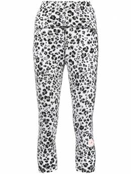 Adidas by Stella McCartney animal-print cropped leggings FU0755