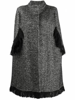 Charlott single-breasted cape coat 612419
