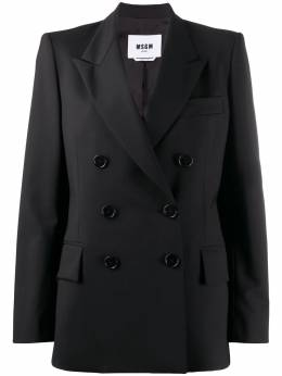 MSGM double-breasted blazer jacket 2941MDG15207519