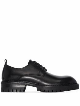 Ann Demeulemeester leather Oxford shoes 201428802014375099