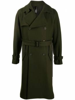 Hevo double-breasted belted coat MOTOLESET725