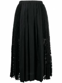 No. 21 pleated midi skirt 20IN2M0C1014078