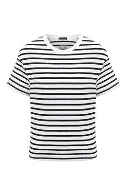 Хлопковая футболка Atm Anthony Thomas Melillo AW1321-GAB4
