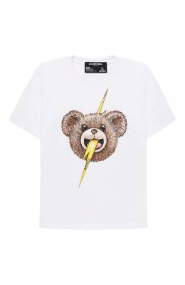Хлопковая футболка Dom Rebel B0LTFACE/T-SHIRT/4-14