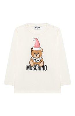 Хлопковый лонгслив Moschino MS0000/LBA22
