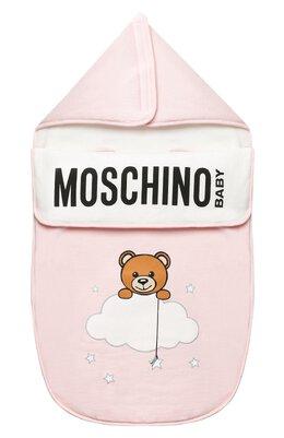 Хлопковый конверт Moschino MZE005/LCE00