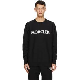 Moncler Genius 2 Moncler 1952 Black Fleece Logo Sweatshirt 8G718 - 10 - V8187