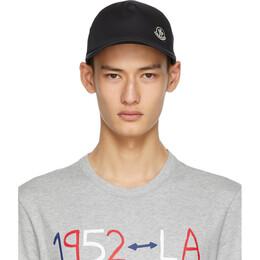 Moncler Genius 2 Moncler 1952 Black Baseball cap 3B714 - 00 - 54AMN